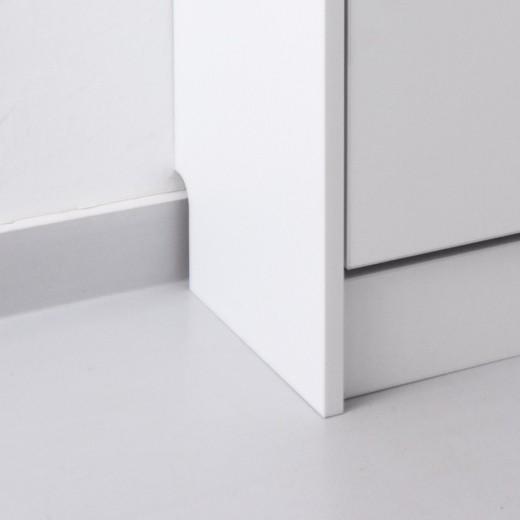 Цоколь у шкафа