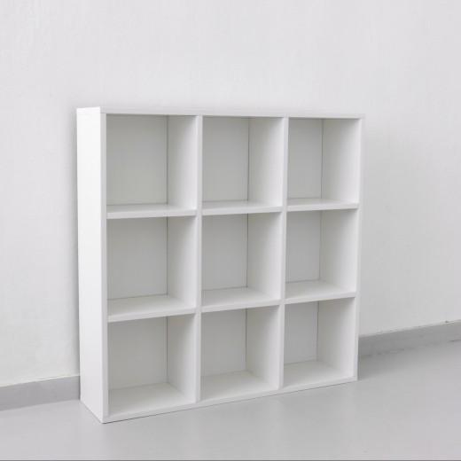 Шкаф с квадратными полками 3x3