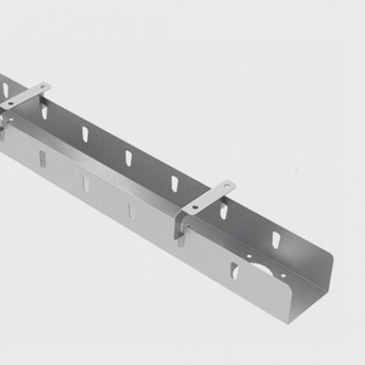 Съёмный узкий кабель-канал 1м (Д-041)