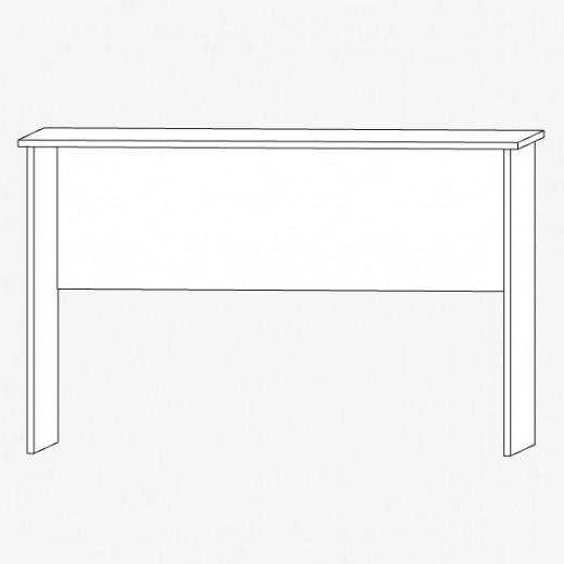 Офисный стол из ДСП, 1200х600мм, белый