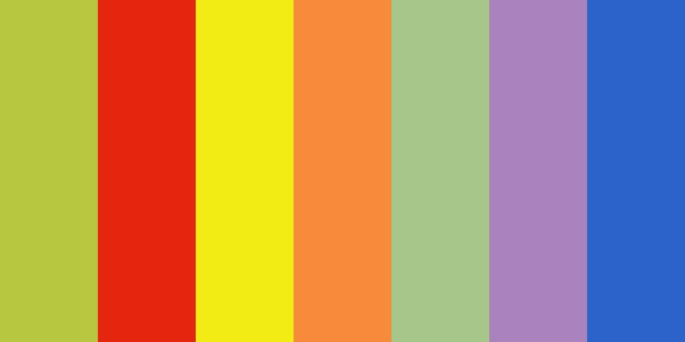 Добавили больше ярких цветных материалов в конструктор