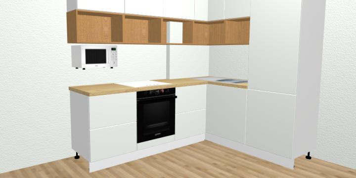Запустили конструктор кухонь