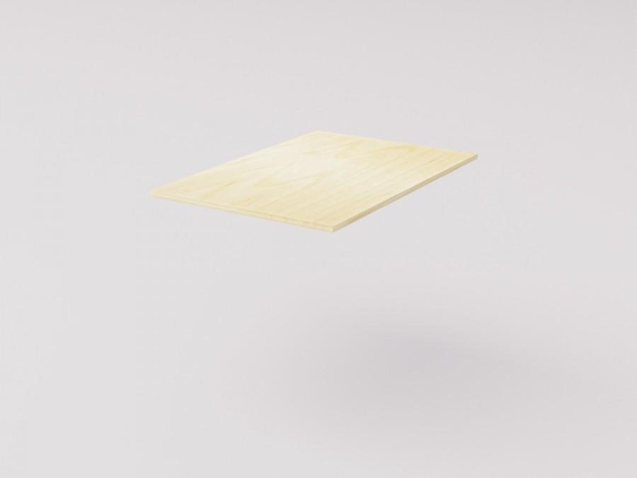Столешница для детского стола 78х54см, берёзовая фанера 15мм