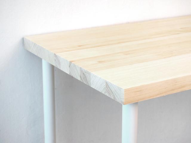 Деревянный рабочий стол из натуральной сосны