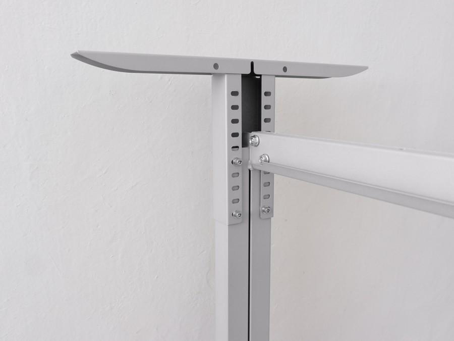 Регулируемый по высоте рабочий стол «Пилот Т», ДСП 16мм, Дуб Сонома, 110х60см