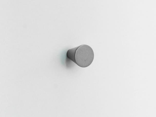 Ручка-кнопка. Конус. Металл