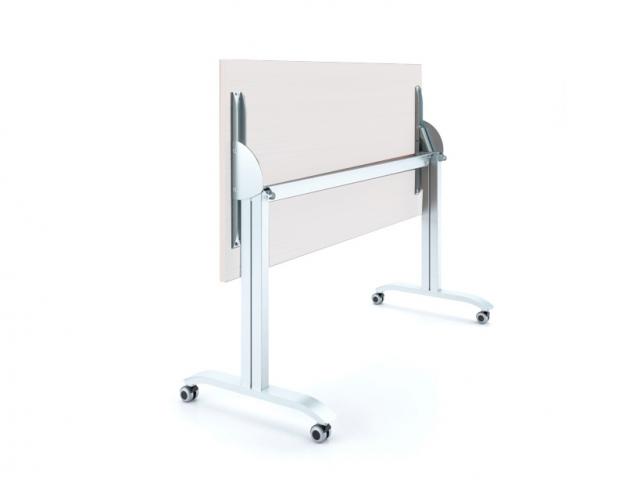 Мобильный складной стол «Пилот компакт» со столешницей из белого ДСП 22мм, 1200х600мм