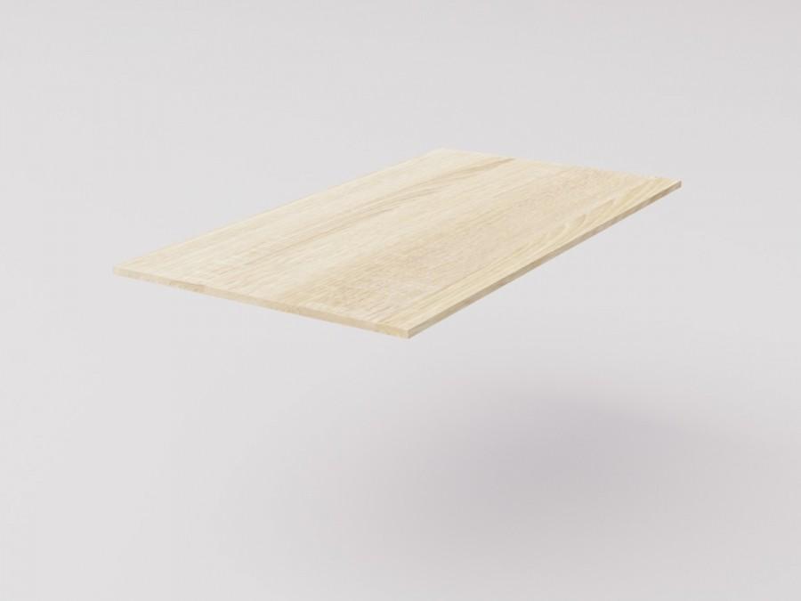 Столешница для рабочего стола 120х65см, ДСП 16мм, Дуб Сонома