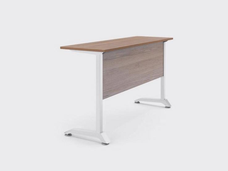 Узкий стол «Техно 450», ДСП 16мм, Дуб Сонома, 120x45см