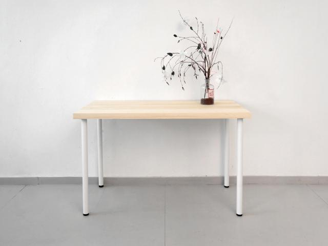 Столешница для рабочего стола классическая 120х60см, сосна 40мм