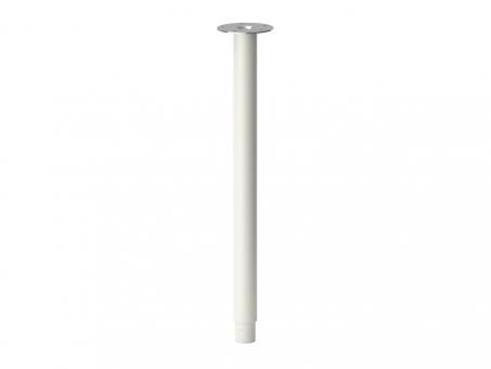 Ножка для стола регулируемая 60-90см, белая