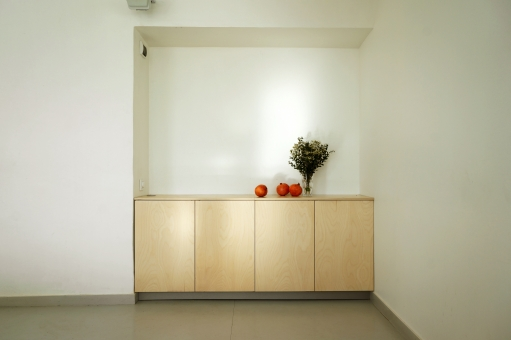 Шкаф-кухня в нишу