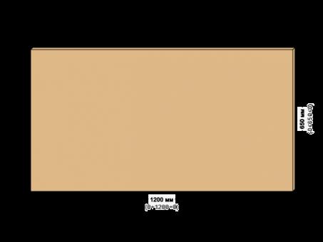 Столешница для рабочего стола 140х60см. Берёзовая фанера 21мм под лаком