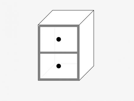 Тумбочка с ящиками