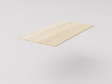 Столешница для рабочего стола классическая 120х60см, ДСП 16мм, дуб Сонома