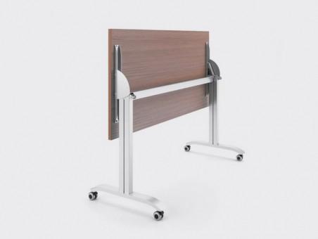 Мобильный складной стол «Пилот компакт», ДСП 16мм, Дуб Сонома 1200х600мм