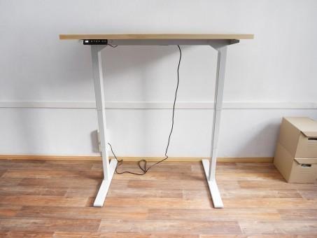 Стол для работы стоя «Макс  Электро» с берёзовой столешницей, 1200х700мм