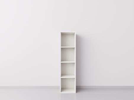 Шкаф 1x4 квадрата, белый