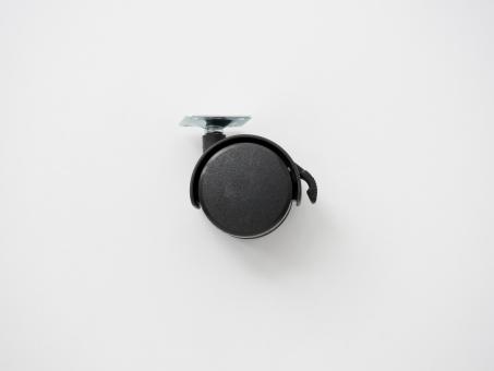 Колесо пластиковое с тормозом